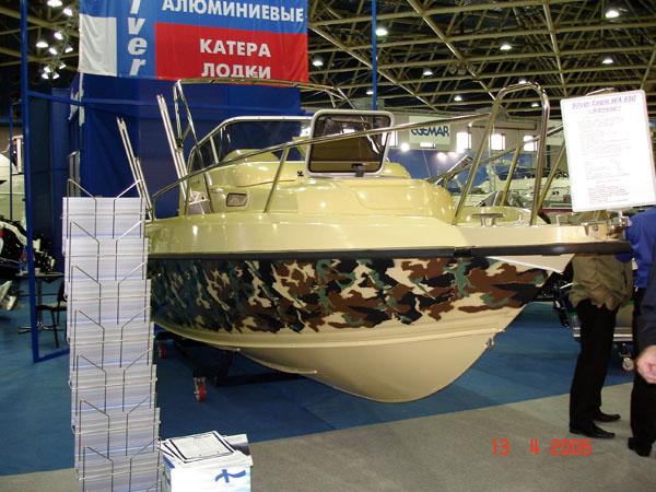 Рейлинги на яхте от АртПрофиль